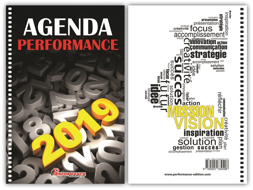 agenda performance 2019 cover